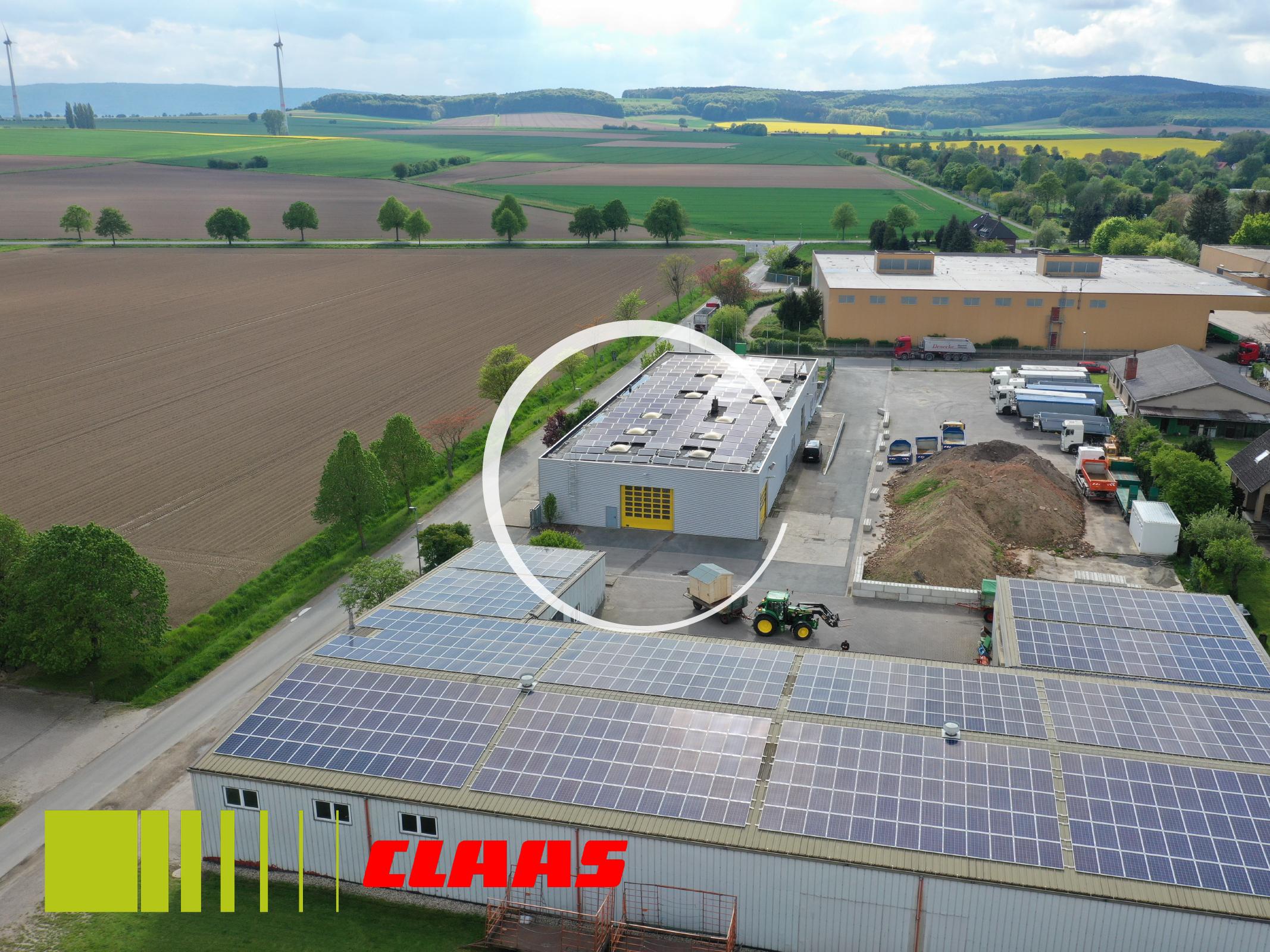 Photovoltaik Großanlage Gewerbe